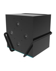 Fire TV Cube in Wall Mount - with cube angled