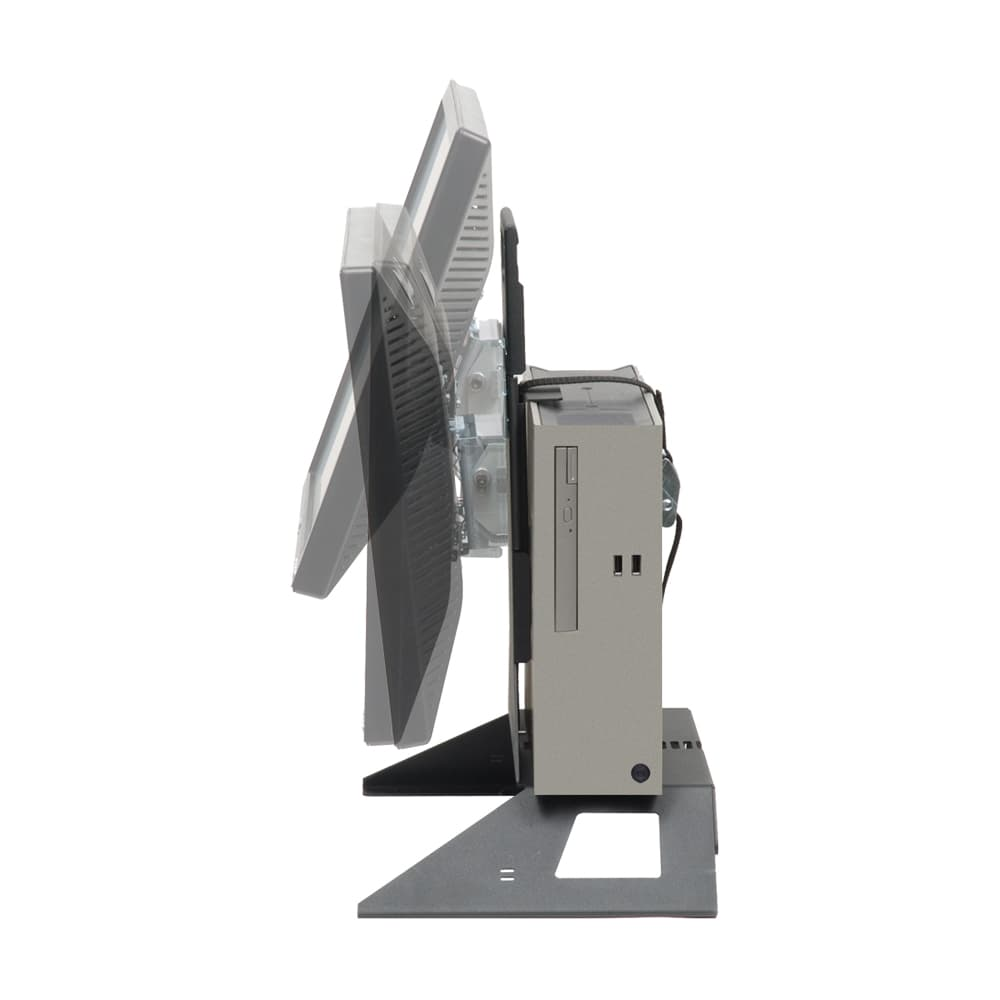 AIO monitor rack for small PC swivel